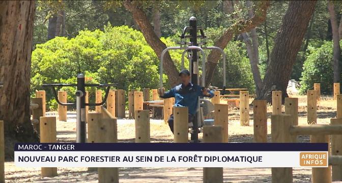 Tanger: nouveau parc forestier au sein de la forêt diplomatique