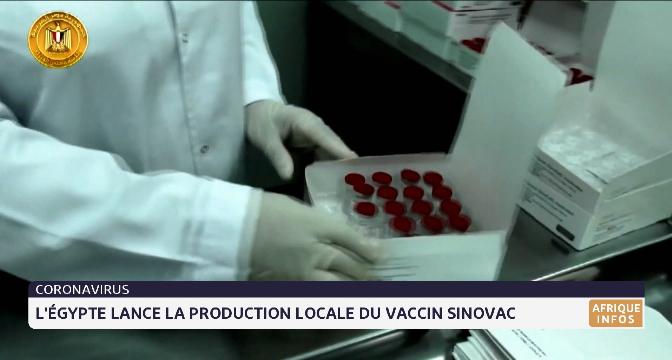 L'Égypte lance la production locale du vaccin Sinovac