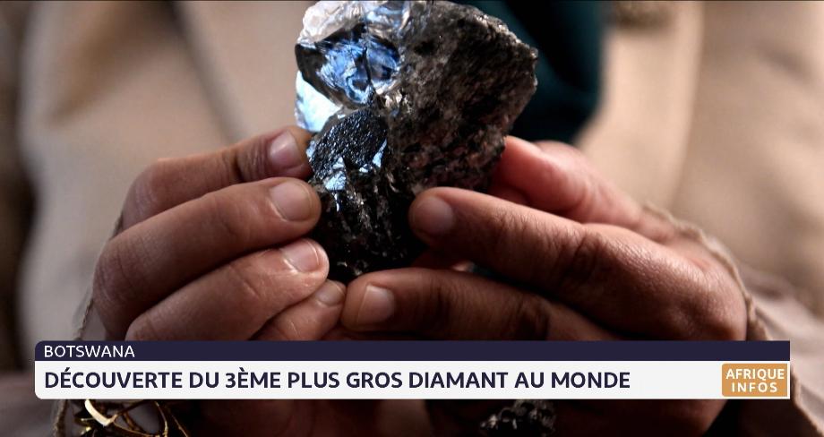 Botswana: découverte du 3ème plus gros diamant au monde