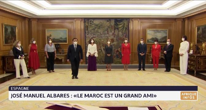 """José Manuel Albares: """"Nous devons renforcer nos relations, notamment avec le Maroc, notre grand ami"""""""