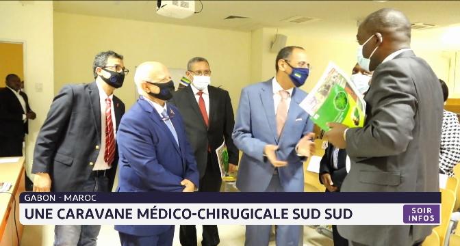 Une caravane médico-chirugicale sud sud au Gabon