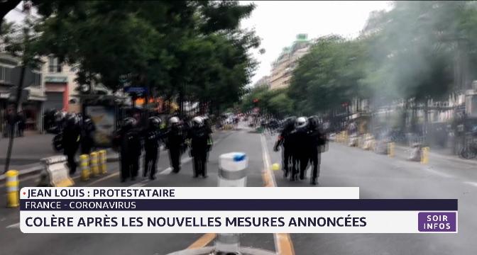 Coronavirus en France: colère après les nouvelles mesures annoncées