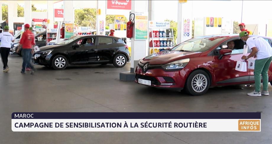 Maroc: campagne de sensibilisation à la sécurité routière