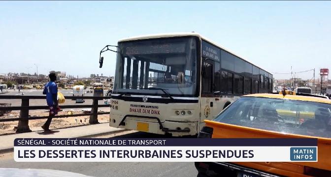 Sénégal : les dessertes interurbaines suspendues