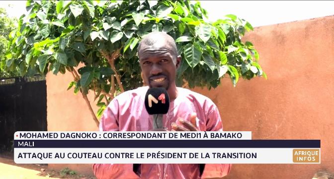 Mali: attaque au couteau contre Assimi Goïta. Le point avec Mohamed Dagnoko
