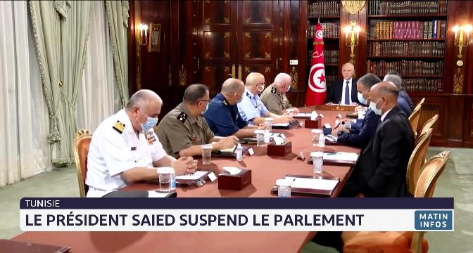 Tunisie: le président Saied démet le chef du gouvernement