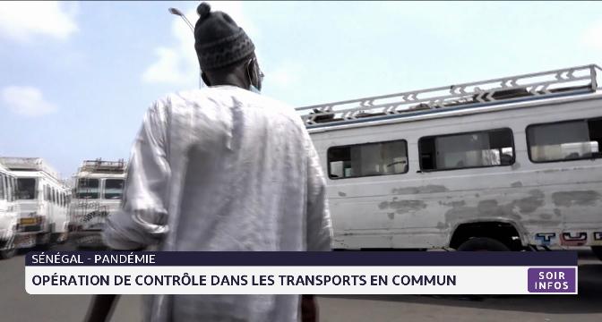 Sénégal: opération de contrôle dans les transports en commun