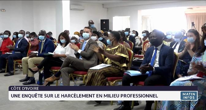 Côte d'Ivoire: une enquête sur le harcèlement en milieu professionnel