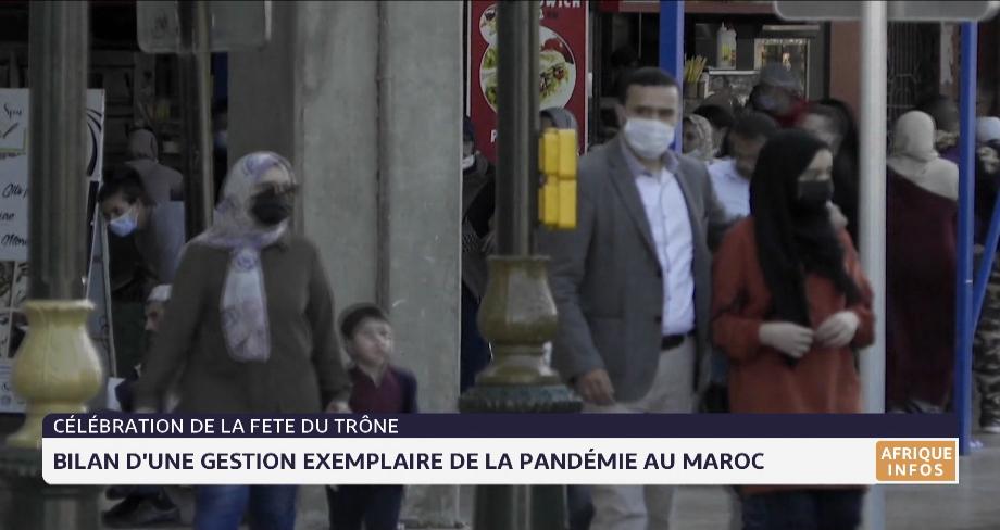 Bilan d'une gestion exemplaire de la pandémie au Maroc