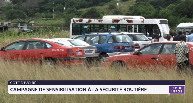 Côte d'Ivoire: campagne de sensibilisation à la sécurité routière