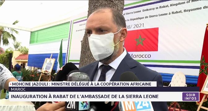 Inauguration à Rabat de l'ambassade de la Sierra Leone