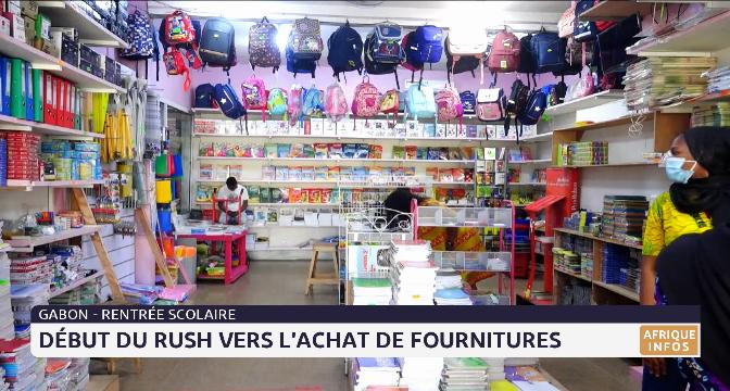 Gabon-rentrée scolaire: début des rush vers l'achat des fournitures
