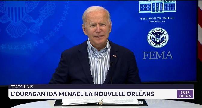 Etats-Unis: l'ouragan IDA menace la Nouvelle Orléans