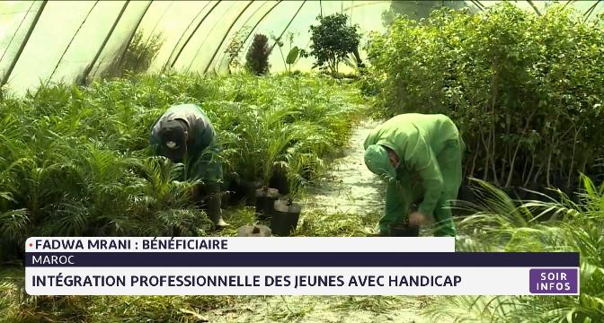 Maroc: intégration professionnelle des jeunes avec handicap