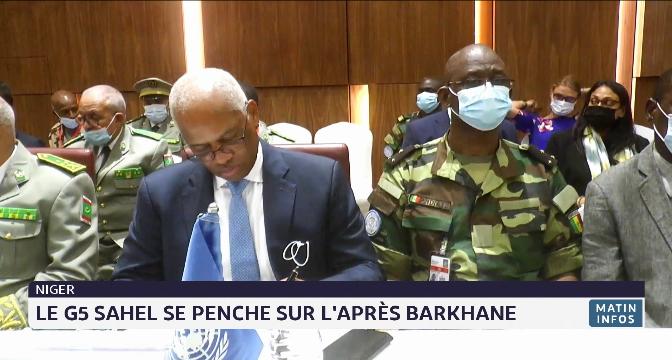 Niger: le G5 Sahel se penche sur l'après Barkhane