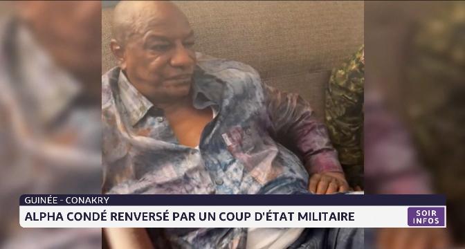 Guinée Conakry: Alpha Condé renversé par coup d'état militaire