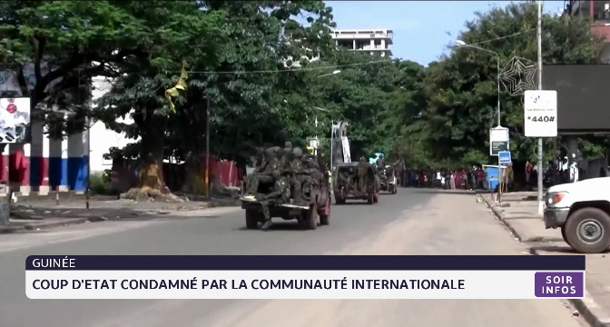 Guinée: coup d'Etat condamné par la communauté internationale