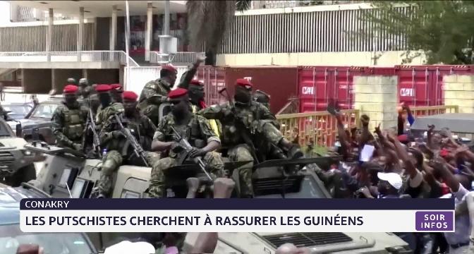 Conakry: les putschistes cherchent à rassurer les Guinéens