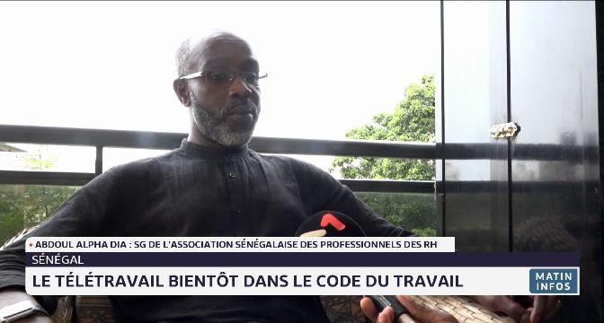 Sénégal: le télétravail bientôt dans le code du travail