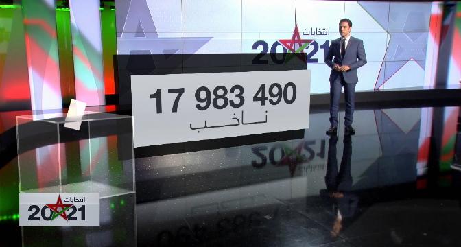 بتقنية الواقع المعزز .. معطيات رقمية هامة حول انتخابات 2021 بالمغرب