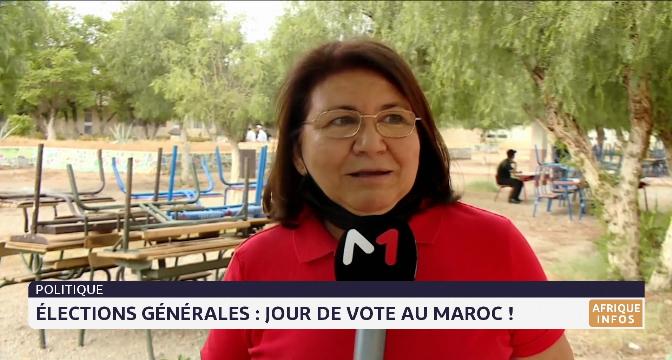 Élections générales: jour de vote au Maroc !
