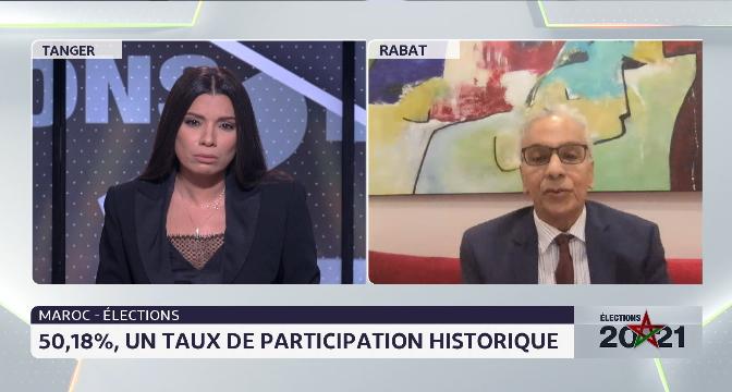 Elections 2021: un taux de participation de 50,18%. Le commentaire de Driss Aissaoui