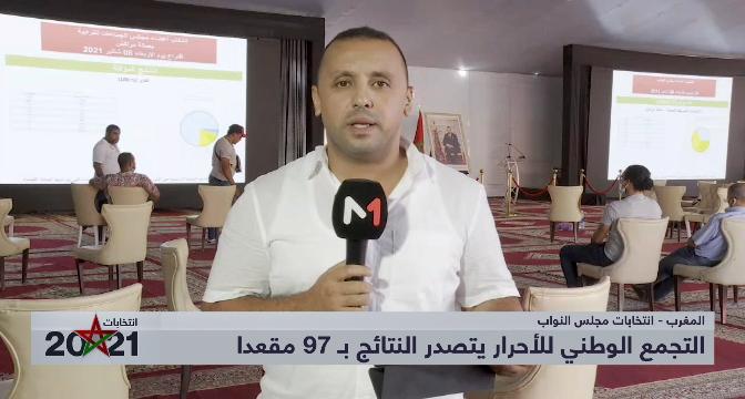 أنس طموح يقدم نتائج الانتخابات بجهة مراكش آسفي