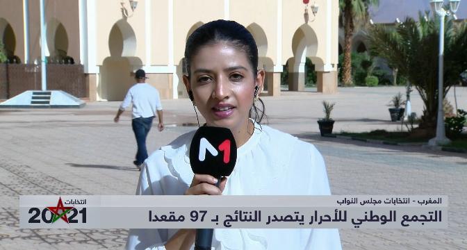 ملاك مهراج تقدم نتائج الانتخابات بجهة درعة تافيلالت