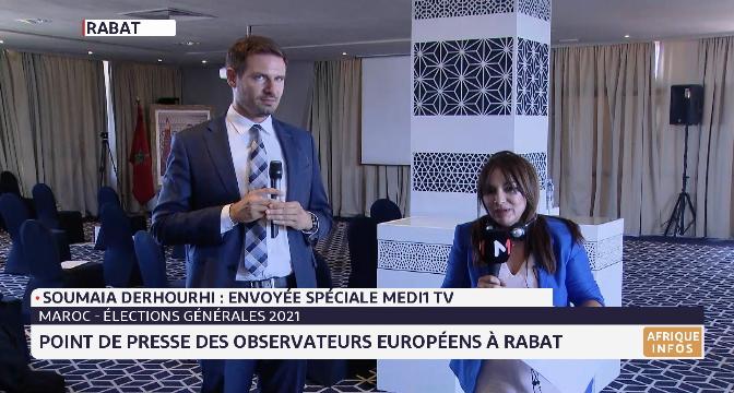 Elections 2021: retour sur le point de presse des observateurs européens