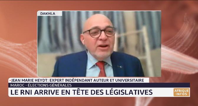 Elections 2021: le RNI arrive en tête des législatives. Analyse Jean Marie Heydt