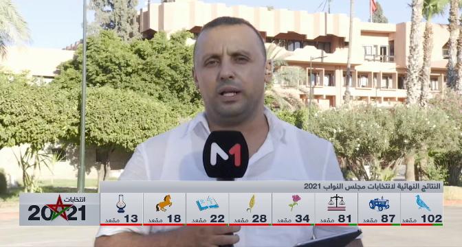 الانتخابات الجماعية والجهوية .. موفد ميدي 1 تيفي إلى مراكش يستعرض النتائج النهائية