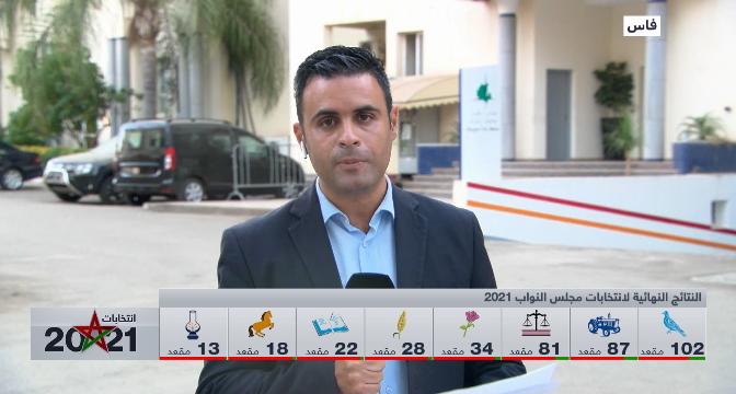 موفد القناة يقدم آخر النتائج المسجلة في اقتراع 8 شتنبر بجماعة فاس