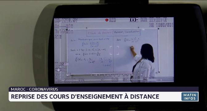 Covid-19: reprise des cours d'enseignement à distance au Maroc