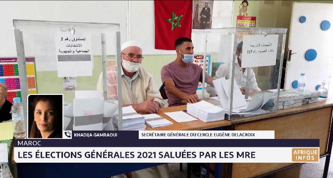 Les élections générales du Maroc saluées par les MRE. Le point avec Khadija Gamraoui