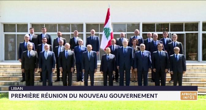 Liban: première réunion du gouvernement