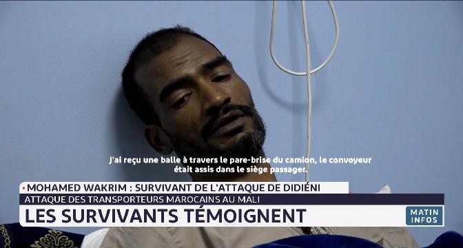 Attaque des transporteurs marocains au Mali. Les survivants témoignent
