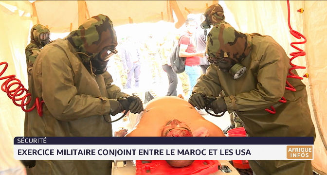 Exercice militaire conjoint entre le Maroc et les Etats-Unis