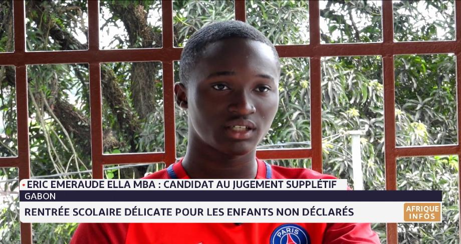 Gabon: rentrée scolaire délicate pour les enfants non déclarés