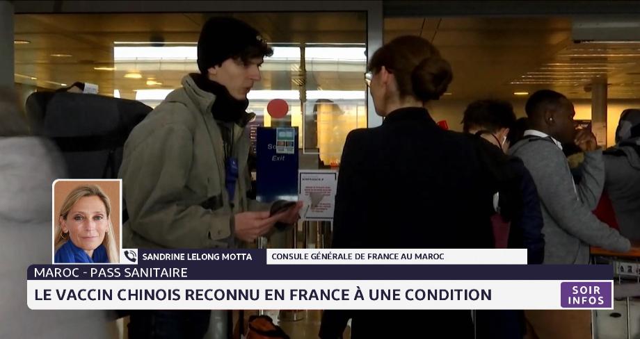 Pass sanitaire: le Vaccin chinois reconnu en France à une condition. Les explications du Consule générale de France