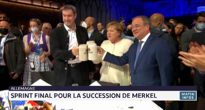 Allemagne: Sprint final pour la succession de Merkel