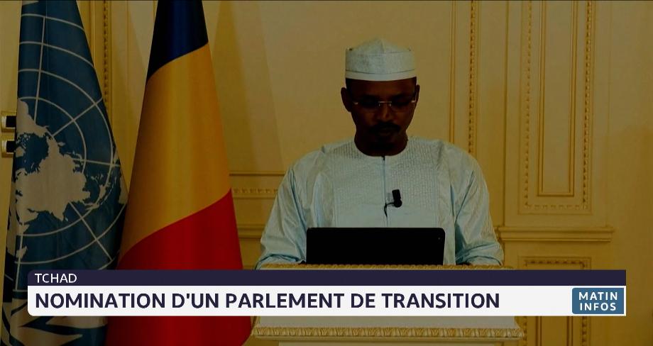 Tchad: nomination d'un parlement de transition