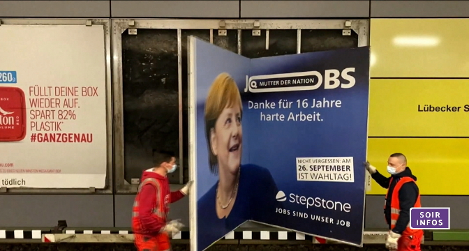 Allemagne: législatives à suspens pour la succession de Merkel