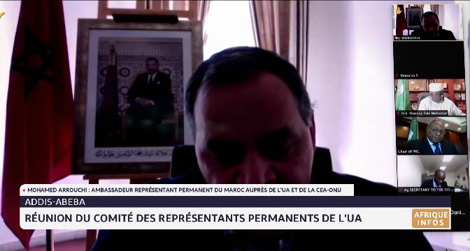 Réunion du Comité des Représentants permanents de l'UA