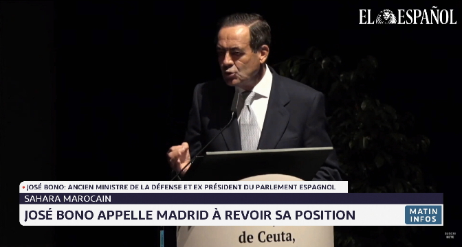 Sahara marocain: José Bono appelle Madrid à revoir sa position
