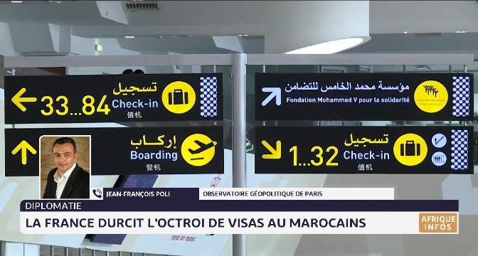 La France durcit l'octroi de visas aux Marocains. Analyse de Jean-françois Poli