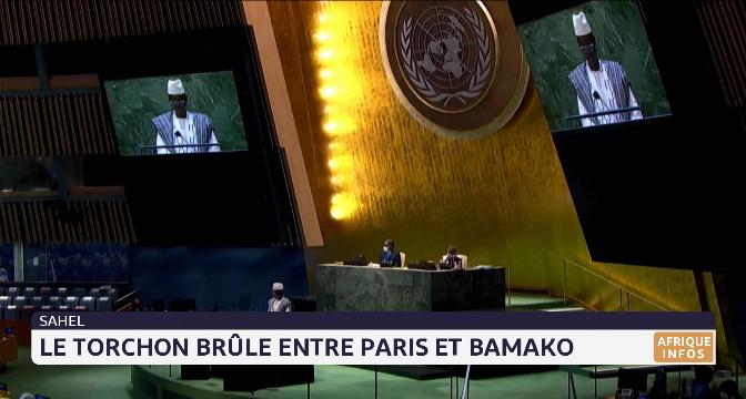 Sahel: le torchon brûle entre Paris et Bamako