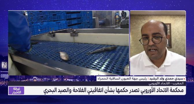 محكمة الاتحاد الأوروبي تصدر حكمها بشأن اتفاقيتي الفلاحة والصيد البحري .. تعليق سيدي حمدي ولد الرشيد