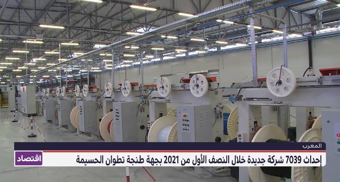 إحداث 7039 شركة جديدة خلال النصف الأول من 2021 بجهة طنجة تطوان الحسيمة