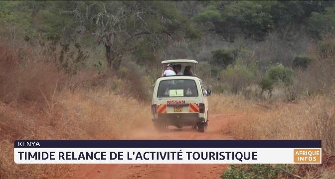 Kenya: timide relance de l'activité touristique