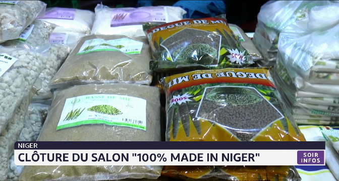 """Clôture du salon """"100% made in Niger"""""""